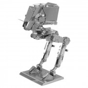 DIY 3D Puzzle Toy modelo montado metal ATST - plata