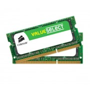 Value Select SO-DIMM 16 Go (2 x 8 Go) DDR3 1600 MHz CL11 - Kit Dual Channel RAM SO-DIMM DDR3 PC12800 - CMSO16GX3