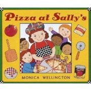 Pizza at Sally's by Monica Wellington