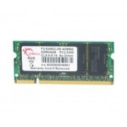 Mémoire pour portable DDR2 G.Skill SO-DIMM 4 GB DDR2-667 F2-5300CL5S-4GBSQ 4 GB CL5 1 barette