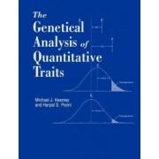 Genetical Analysis of Quantitative Traits by Michael Kearsey