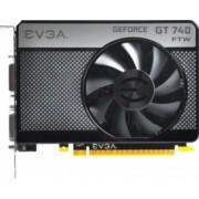 Placa video EVGA GeForce GT 740 FTW 1GB DDR5 128Bit