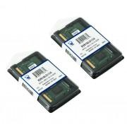 Kingston 8Go (2x 4Go) DDR3 1600MHz PC3-12800 (204 PIN) SO-DIMM (204 broches) SO DIMM KVR16LS11/4 mémoire 1.35v