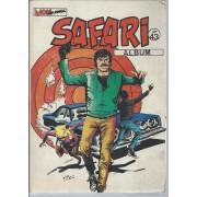 Album Relié ( Recueil ) Safari N° 43 : Safari N° 155 ( 5 Mars 1984 ) + Safari N° 156 + Safari N° 157 ( 5 Septembre 1984 )
