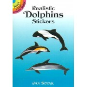 Realistic Dolphins Stickers by Jan Sovak