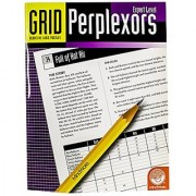 MindWare - Grid Perplexors: Expert Level - Great for Helping with Standardized Tests - Challenging and Rewarding