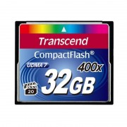 Card Transcend Compact Flash 32GB 400x