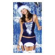 Costume Natale Snowflake Obsessive