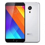 """Meizu MX5 - Smartphone de 5.5"""" (WiFi, 4G LTE, Octa Core, 3 GB de RAM, 32 GB memoria interna, cámara de 20.7 MP + 5 MP) color gris claro"""