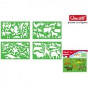 Quercetti stencils animali