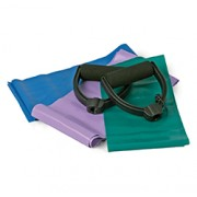 YOGA & PILATES RESISTANCE BANDS 3 Piece Set