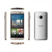 "Smartphone, HTC One M9+, 5.2"", Arm Octa (2.2G), 3GB RAM, 32GB Storage, Android5.0, Silver/Golden (99HADR065-00)"