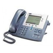 Cisco Systems Unified IP Phone 7940G Teléfono (base, G.711, G.729a, H.323, MGCP, SCCP, SIP, LCD, 48 VDC, 0 40 °C)