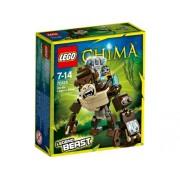 Lego Chima Gorilla Legend Beast, Multi Color