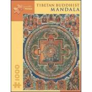 Tibetan Buddhist Mandala by Gina Bostian
