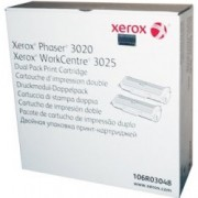 Pachet dublu - 2 x Cartus toner Xerox Phaser 3020 - 106R03048