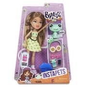 Bratz Instapets Doll Yasmin - muñecas (Chica, Multicolor, De plástico, Doll earring, Cepillo de muñecas, Doll headband, Mascota de muñeca, Doll phone, Doll phone case, Dol, Femenino, Frog)