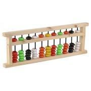 Skillofun Wooden Chinese Abacus, Multi Color