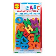 Plastic Magnetic Letters (Set Of 36)