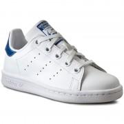 Pantofi adidas - Stan Smith El C BB0694 Ftwwht/Ftwwht/Eqtblu