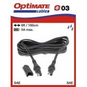 Tecmate/Accumate O-03 (SAE-63) Hosszabbító vezeték