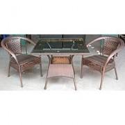 Garnitura od Wicker-a Monarch - 2 - 2 stolice + sto