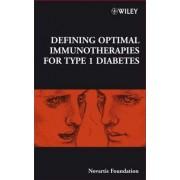 Defining Optimal Immunotherapies for Type 1 Diabetes by Novartis Foundation