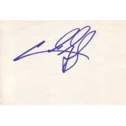 Cuba Gooding Jr Autographed Index Card