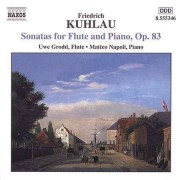 F. Kuhlau - Flute Sonatas Op.83 (0747313534623) (1 CD)