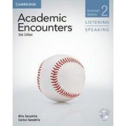 Academic Encounters Level 2 Student's Book Listening and Speaking with DVD by Kim Sanabria