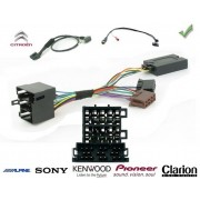 COMMANDE VOLANT Citroen Jumper -2006 - Pour SONY complet avec interface specifique