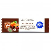Baton fructe cu guarana, ciocolata si portocale (fara gluten) BIO - 40 g