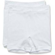 Trigema Damen Pagenschlüpfer Doppelpack Shorts Mujer, color blanco, talla 40 (Talla fabricante: M)