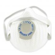 Stofmasker met ventiel (Moldex 2405) 2 stuks