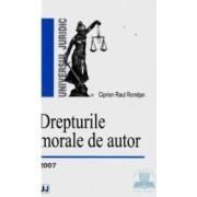 Drepturile morale de autor - Ciprian Raul Romitan