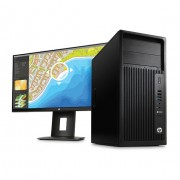 HP - Z 240 MT + Z23n 3.5GHz E3-1245V5 Mini Tower Negro