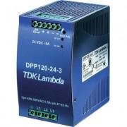 DIN kalapsínes tápegység DPP120-24-3, TDK-Lambda (512639)