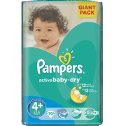 Pampers Active Baby 4+ - 70 bucati