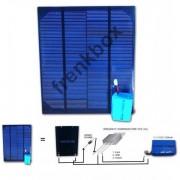 Solar Kit composto da Pannello solare raddrizzatore batteria fino a 1 ampere