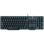 Logitech K100 Classic PS/2 Wired Keyboard (Black)