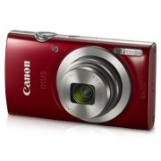 Canon IXUS 185 Digital Camera (Red) with 8GB Memory Card and Camera Case