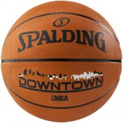 Spalding Basketball NBA Downtown (Outdoor) - orange/schwarz/weiß | 7
