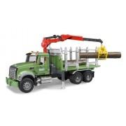 BRUDER MACK Granite Halfpipe dump truck - vehículos de juguete (Negro, Azul, ABS sintéticos, 3 Año(s), 18,8 cm, 61,5 cm, 20,8 cm)