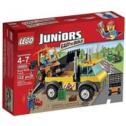 LEGO Juniors 10683 Road Work Truck Building Kit