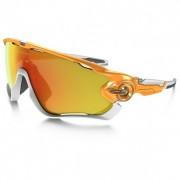 Oakley - Jawbreaker Fire Iridium Polar - Sonnenbrille orange/grau