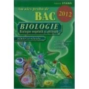Am ales proba de bac biologie 2012 - Ioana Stama