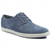 Обувки CLARKS - Torbay Lace 203576137 Denim Blue Suede