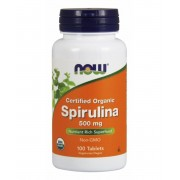 Now Spirulina tabletta 100 db