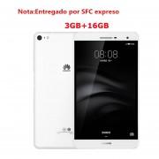Tablet Huawei MediaPad M2 Lite(PLE-703L)16GB 7'' 3G Phablet-Blanco(Entregado Por Express)