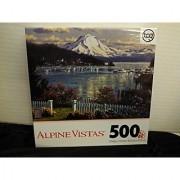 Alpine Vistas Mountain Scene 500 Piece Puzzle